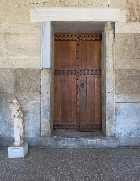 A shop door, Stoa of Attalos, reconstructed 1956