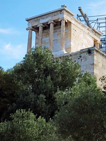 Temple of Athena Nike, Athens, 420 BCE