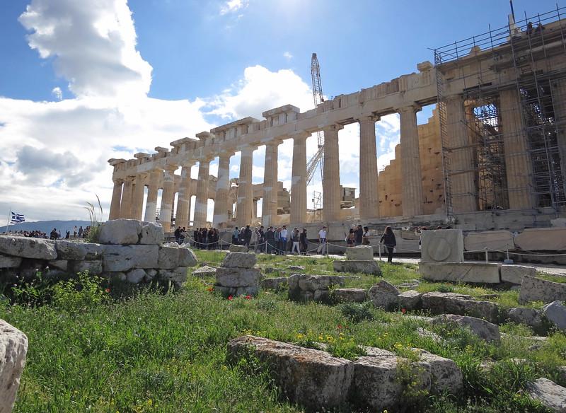 Parthenon, north portico