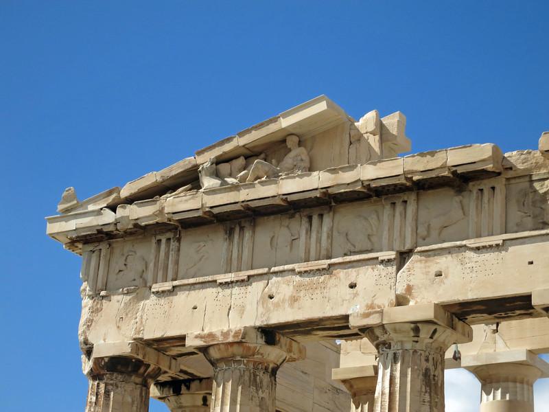 SE pediment