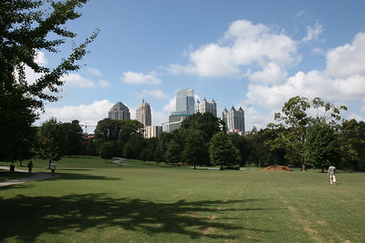 Piedmont Park, Atlanta There is some green in this city
