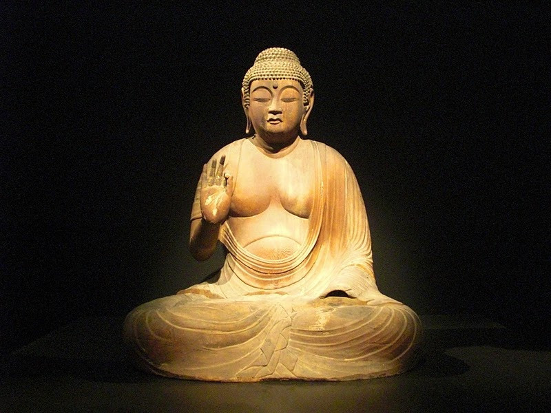 Buddha statue in Tokyo National Museum  Photo by Claire Oberst