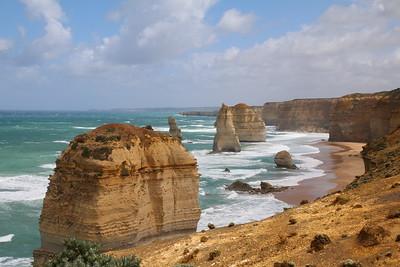 Natuurlijke schoonheid. Twelve Apostels, Great Ocean Road, Victoria, Australië.