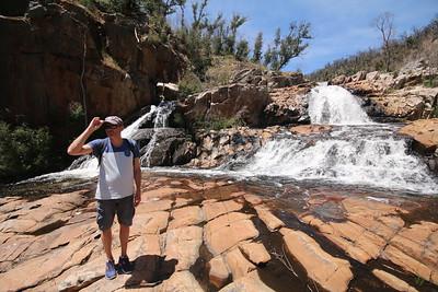 Fish Falls @ Mackenzie River Walk. The Grampians NP, Victoria, Australië.