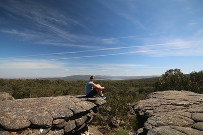 Reed Lookout, The Grampians NP, Victoria, Australië.