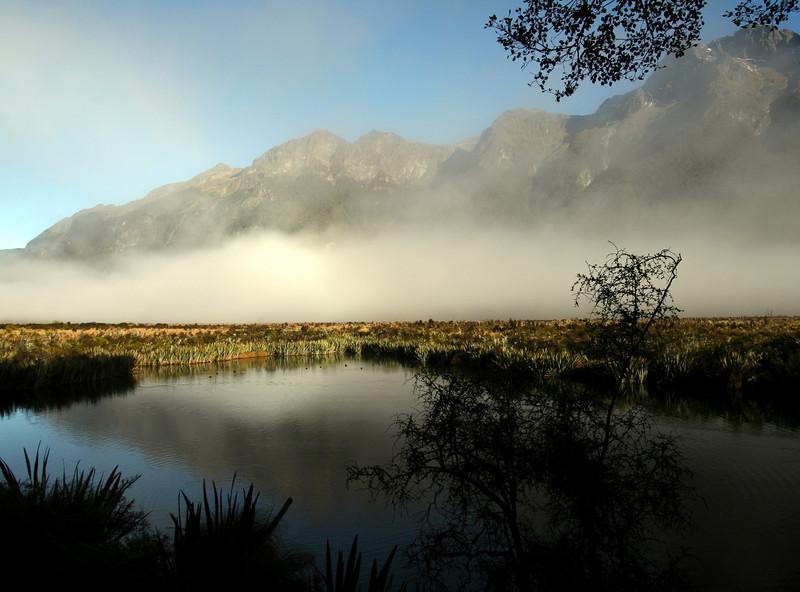 Milford Sound - Mirror Lake 2