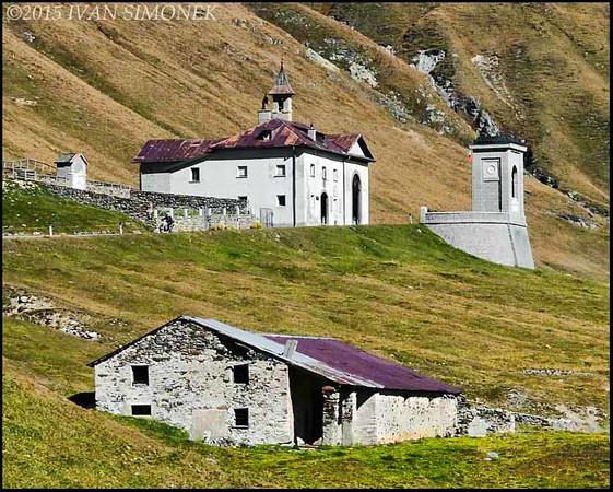 """""""AUSTRIA 6"""", Alps mountain pass."""