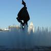 Fountain outside the operahouse.