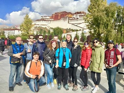 Lhasa Buddhist Temples Potala Palace