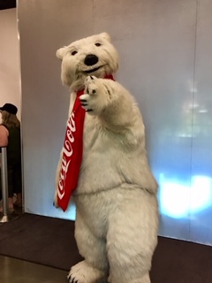 Coca Cola Bear Coke Las vegas