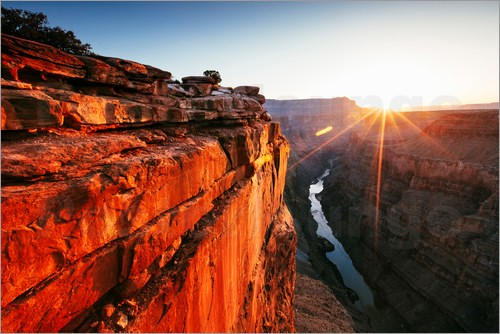 Top Destinations with beautiful sunsets Grand Canyon Arizona USA