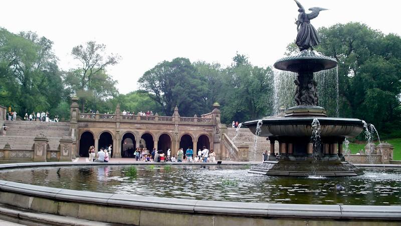 Bethesda Terrace Fountain New York Central Park