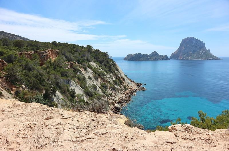 Sailing Es Vedra Spain Ibiza Island