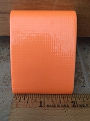 Orange Flat Cloth Tape