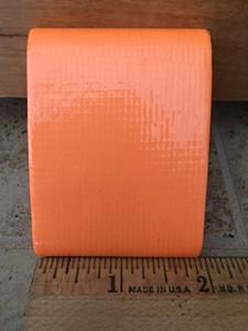 Orange Flat Cloth Tape