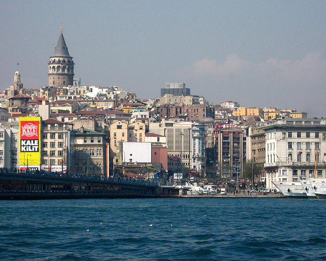 Galata Tower and Galata Bridge, Istanbul