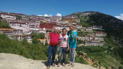 Lhasa Buddhist Temples Great three Gelugpa Monasteries