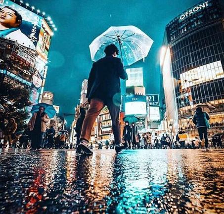 Walking to Enjoy Tokyo City