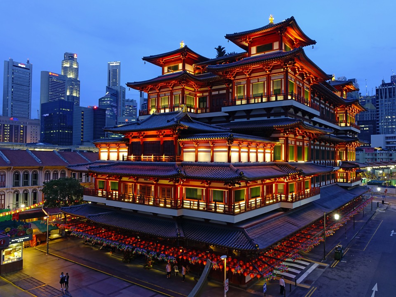 Chinatown - For Traditional Experience