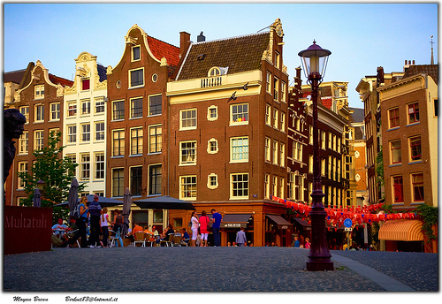 Torensluis Bridge in Amsterdam Travel Cheat Sheet for Europe