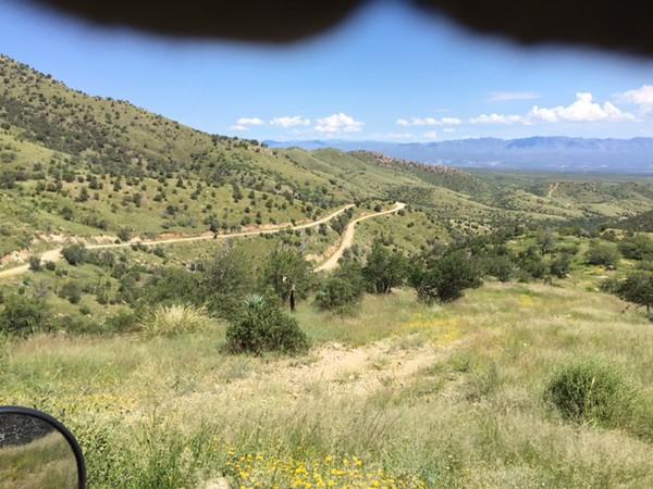 San Pedro Valley and Redddington Pass were  lush !!!