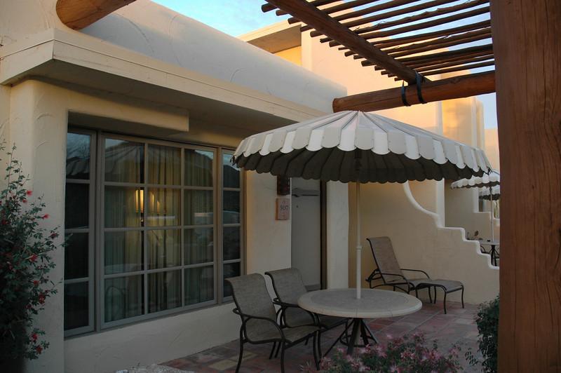 Our JW suite - porch