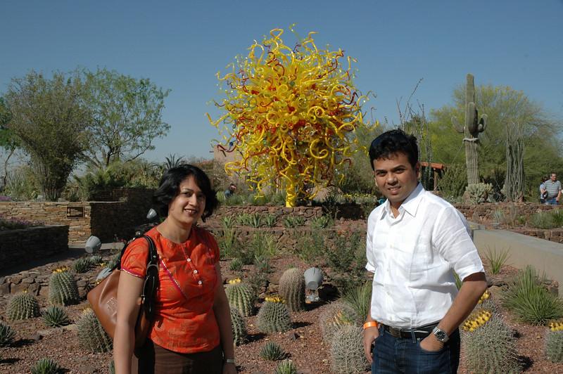 Glass art - Desert Botanical Gardens