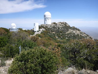 My friend, Walter, suggested a visit to Kitt Peak National Observatory.  The road up climbs to 6,680' and great view are had from the top.