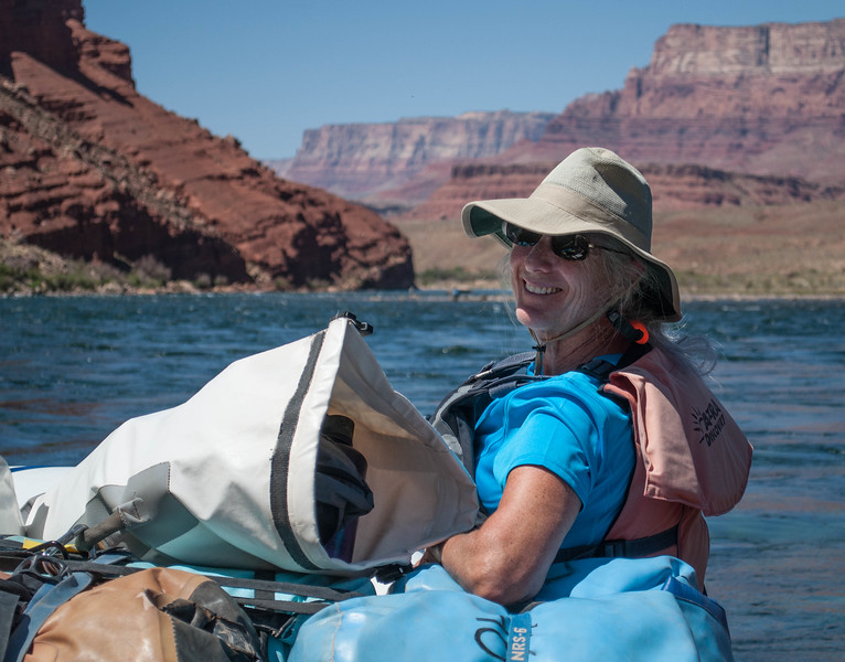 Back on the Colorado River 2 years after our motor trip.