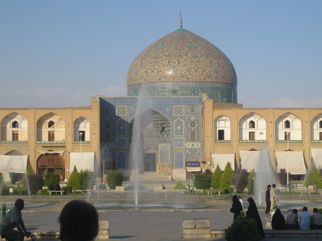 Another image of Sheik Lotf Allah Mosque.