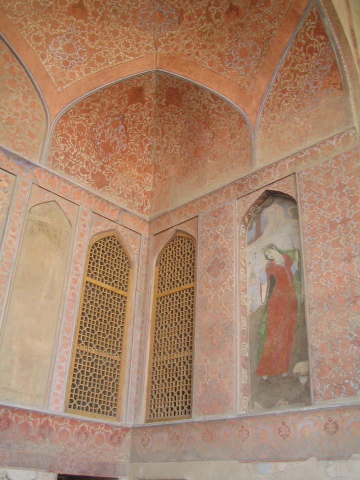 Inside Ali Qapu.