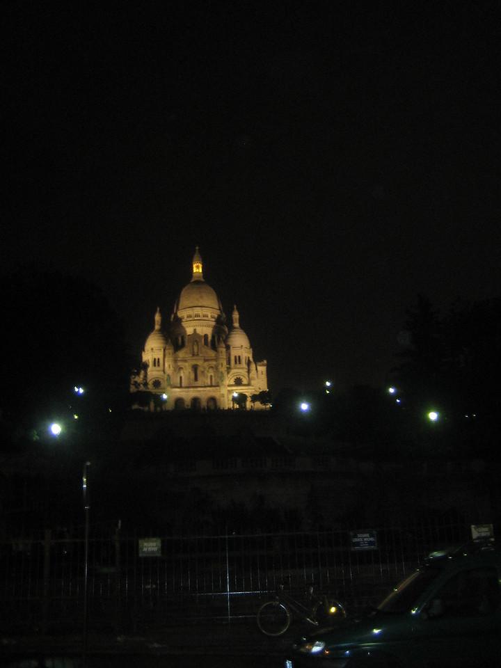 Sacre-Coeur Basilica.