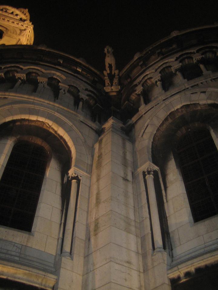 A Gothic gargoyle.