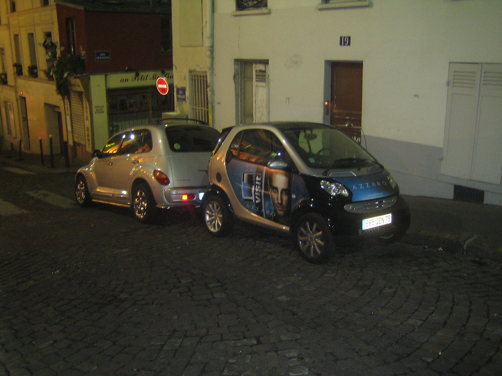 The first Smart Car I had ever seen.