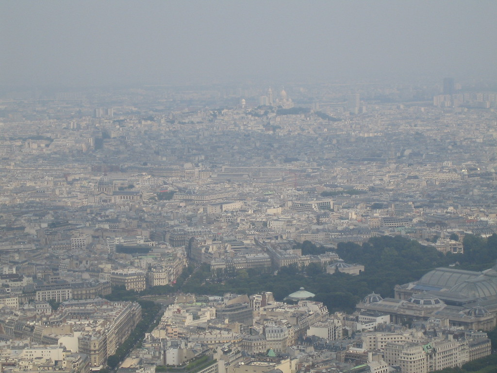 Sacre-Coeur in the distance.