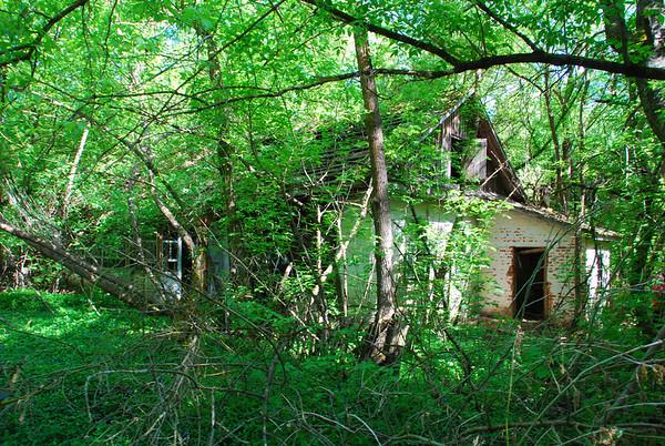 Zalissya abandoned village.