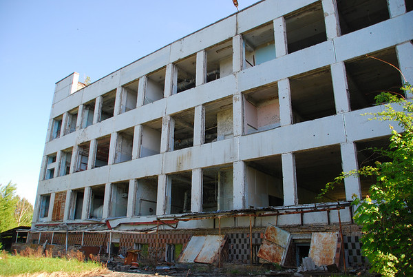 Main office block