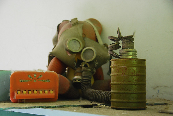 The obligatory Gas Mask