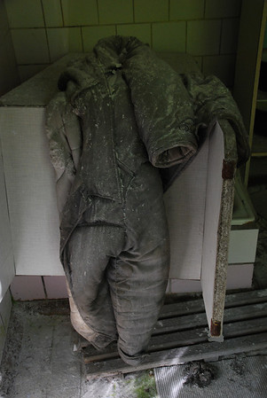 Strange place to leave a boiler suit