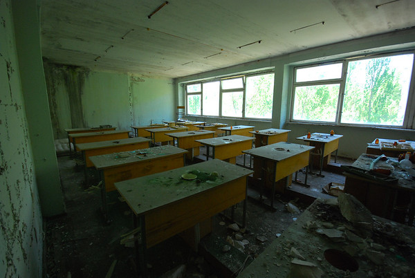 One of the better classrooms