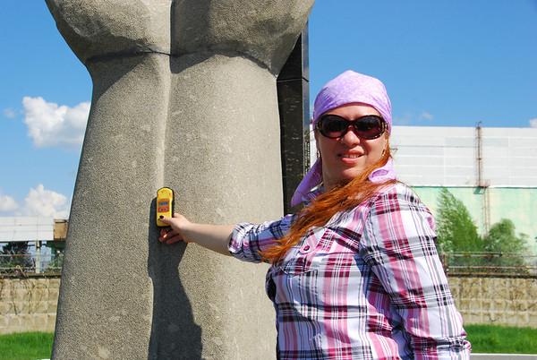 Oksana,our guide