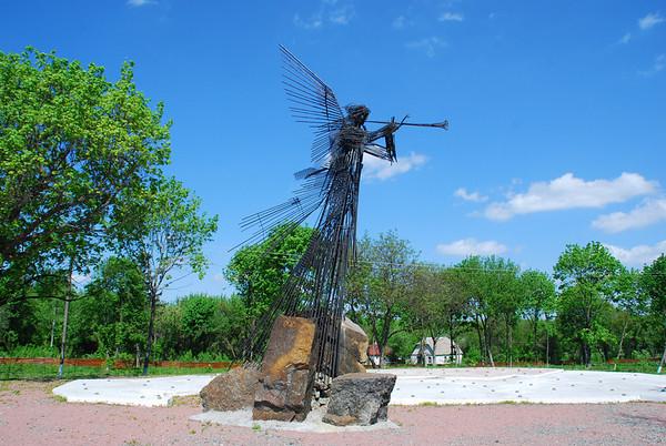 Angel Gabriel memorial.