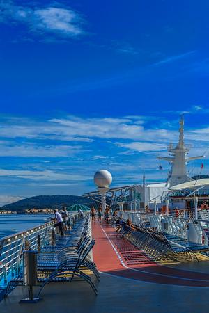 Aboard Liberty of the Seas