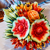 Artistic Fruit Carving