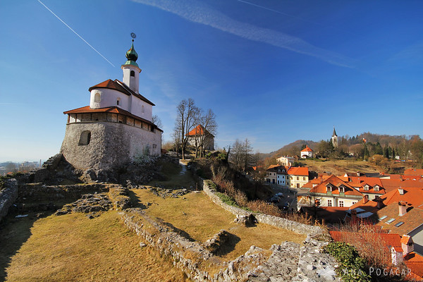Kamnik became a town in the 13th century and has a number of castles and churches.