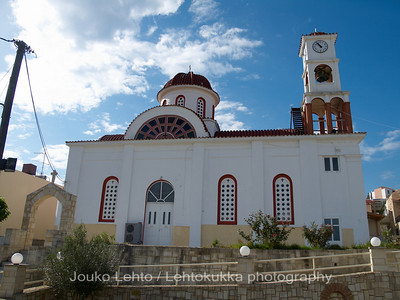 The church of Agia Marina