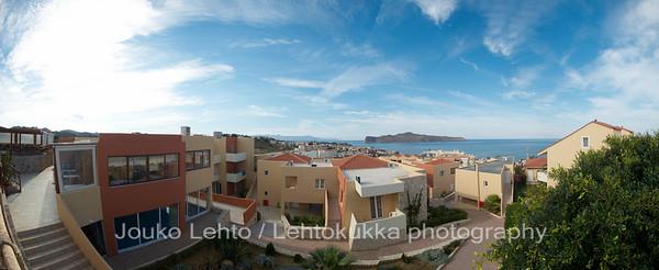 Hotel Theo, fisheye panorama
