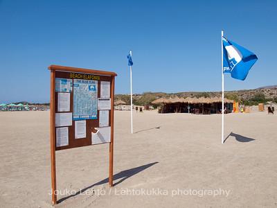 Elafonisi, flags #2