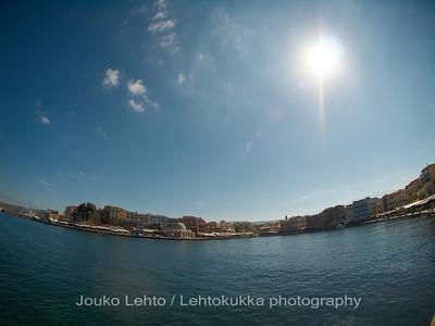 Fisheye harbour