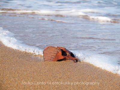 Brick on The Sand